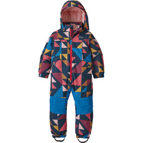 Patagonia Snow Pile One Piece Kinderen, cozy as it gets: crater blue
